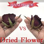 ドライフラワー(シリカゲル)の作り方♪バラを2つの方法で比較!