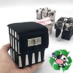 牛乳パックをリサイクル♪ターンロック付き小物入れの作り方!