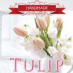 粘土で作る「チューリップ」の作り方!ちょこんと飾れるミニチュア♪