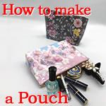 紙袋をリメイク♪「ファスナー付ポーチ」の作り方手順を詳しく解説!