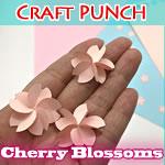 簡単!100均クラフトパンチ(丸型)で作る「桜」の作り方を解説♪