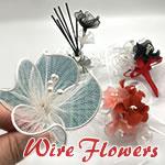 ワイヤーで作る花の簡単な作り方♪低コストで手作りする方法はコレ!