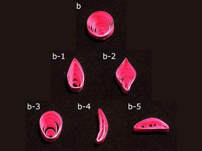 ペーパークイリングの作り方「基本パターンB」
