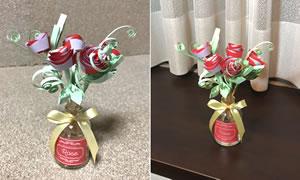 ペーパークイリングで手作り♪「花のアロマディフューザーの簡単な作り方」手順 7