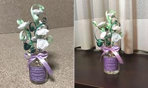 ペーパークイリングで手作り♪花のアロマディフューザーの簡単な作り方「バラのバリエーション」