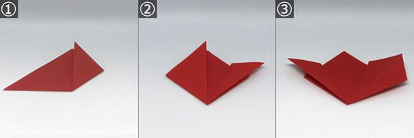 折り紙で作る♪立体の花「桜」の折り方!【手順 1】