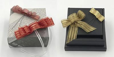 プレゼント用リボンの作り方「簡単!ディオールボウのバリエーション 2」