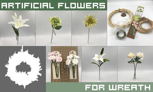 手作りリースの材料!100均造花の種類と選び方「3つのポイント」