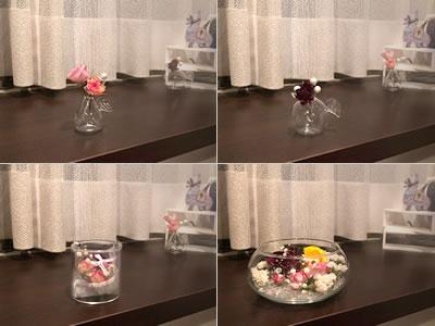 バラのドライフラワーの飾り方「かわいい瓶に飾る!」