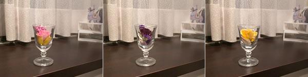 バラのドライフラワーの飾り方「ワイングラスに飾る!」