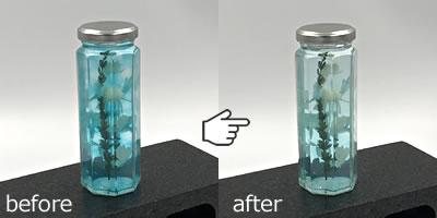 100均材料で作るハーバリウムの作り方「色落ちを利用する!」