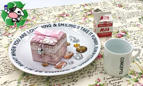 【牛乳パック】小物入れの作り方!簡単でかわいく作れる手順を解説♪