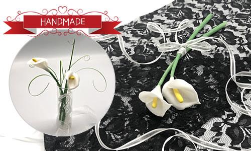 粘土で作る「花(カラー)」の簡単な作り方!写真付きで手順を解説♪