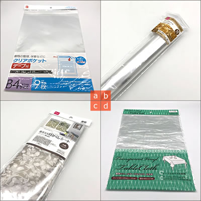 紙袋をリメイクして作るポーチの作り方(必要な材料 2)