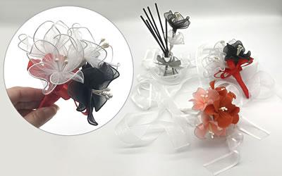 ワイヤーで作る花の簡単な作り方「バリエーション 2」