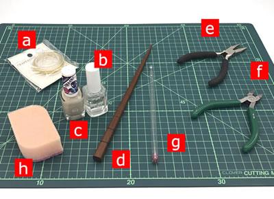 マニキュアフラワーで作る「蓮の花」の作り方!【必要な材料・道具類】
