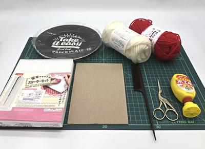 子どもでも簡単に作れる手作りリースの作り方!「必要な材料・道具類」