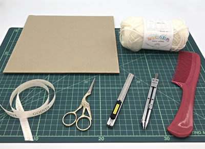 簡単手作りポンポンリースの作り方!「必要な材料・道具類」